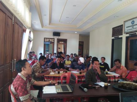 TPK Dibentuk, Pembangunan Tinggal Menghitung Hari