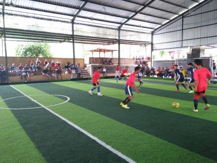 Tim Futsal Desa Sepang Takluk 3-2 Dari Tim Futsal Desa Telaga