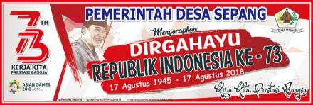 Dirgahayu Ke-73 Republik Indonesia