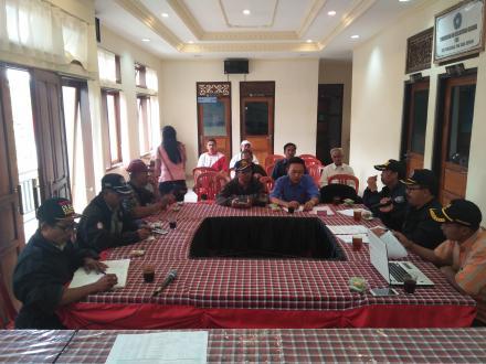 I Made Wilantara Jabat Ketua LPM Desa Sepang