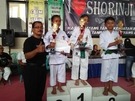 Dojo Sepang Raih Runner-Up Dan Juara Ketiga, Kontingen Bhaktiyasa Rebut Juara Umum