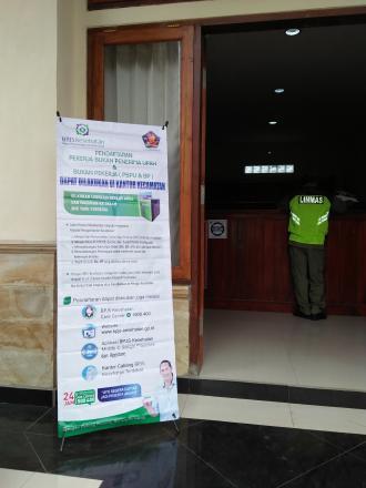 Pengumuman!!! Pendaftaran PBPU Dan BP Kini Dapat Dilakukan Di Kantor Kecamatan