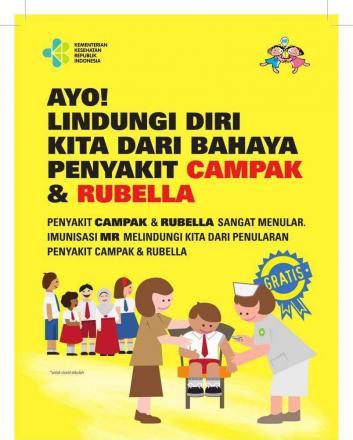 Imunisasi MR Di Posyandu Bhineka 12 Tunggal Jaya