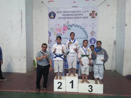 Rektor Cup V Shorinji Kempo Antar Dojo se-Bali, Dojo Sepang Hanya Kumpulkan Enam Medali