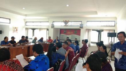 Rapat Koordinasi Kecamatan Busungbiu Bahas 3 Hal Penting yang Akan Segera Terselenggara