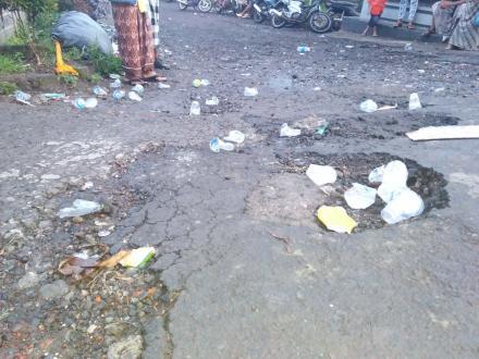Ogoh-Ogoh Memukau, Bagaimana Dengan Sampah Plastik?