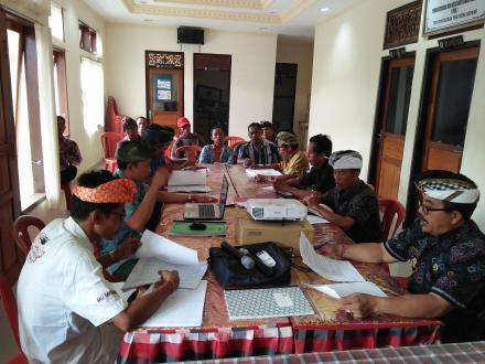 Telah Dibentuk, Berikut TPK pada 5 Proyek Pembangunan Fisik di Desa Sepang