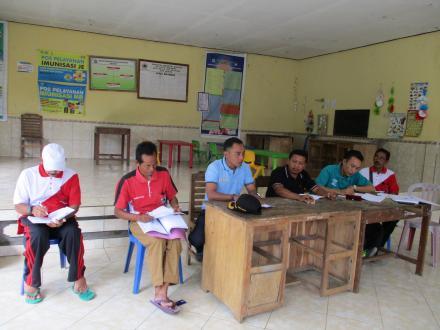 TPK Pembangunan Fisik Desa Sepang Sosialisasikan Program di Tiga Lokasi Jalan Usaha Tani