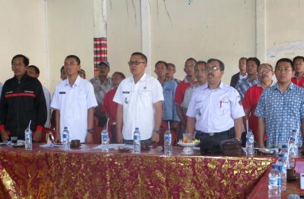 Perbekel Sepang Sampaikan LKPPD TA 2018, Camat Busungbiu Apresiasi Dengan Beberapa Cacatan