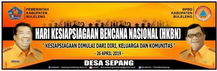 Pemerintah Desa Sepang Mengucapkan Selamat Hari Kesiapsiagaan Bencana Nasional