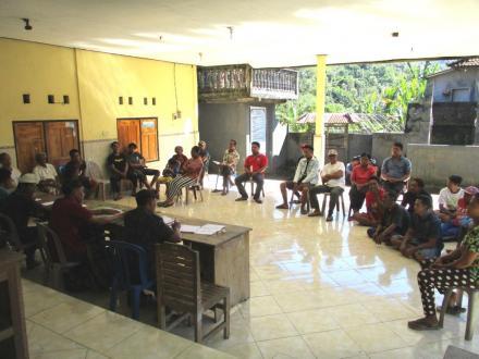 Tingginya Antusias Masyarakat Mengikuti Sosialisasi Pembangunan Fisik di Banjar Dinas Belulang