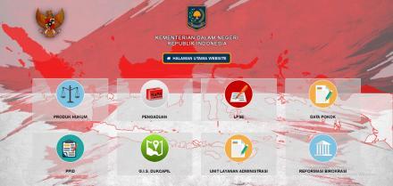 Website dan Media Sosial Kemendagri sebagai Sumber Informasi Resmi Kementerian Dalam Negeri