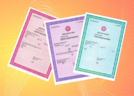 Persyaratan Penerbitan Dokumen Kependudukan Bagian 2 : Akta Lahir, Kawin, Mati dan Cerai