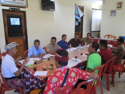 Persiapkan Proposal BKK, Pemdes Sepang Gelar Pertemuan dengan Kelian Desa Pakraman dan Subak
