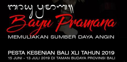 Dibuka Akhir Pekan Lalu, Berikut Jadwal Lengkap Pesta Kesenian Bali XLI Tahun 2019