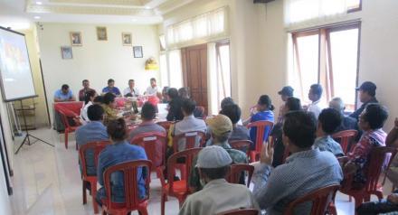 Musdes Berjalan Alot, Usulan Prioritas Pembangunan Desa Sepang Tahun 2020 Disepakati