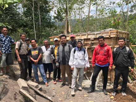 Dinas PUPR Kabupaten Buleleng Monitoring Pelaksanaan PAMSIMAS III 2019 di Desa Sepang