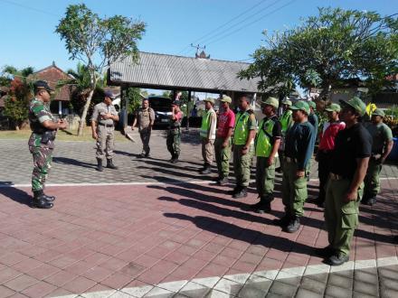 Perwakilan LINMAS Desa Sepang Ikuti Pelatihan Dasar Anggota LINMAS Kecamatan Busungbiu