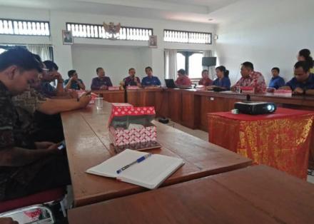 Persiapan Usulan Perencanaan Tahun 2021, BAPPEDA Bekali Operator Desa Mantapkan SIPPEDA