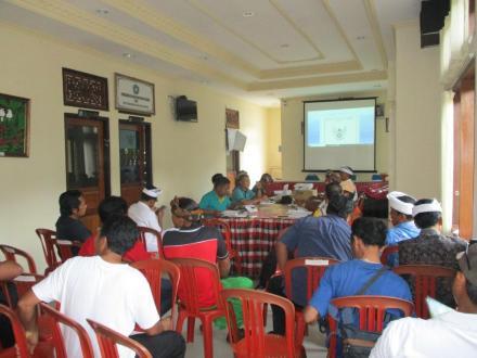 Rapat Pembahasan Rancangan Peraturan Desa Sepang, 5 Ranperdes Dikupas