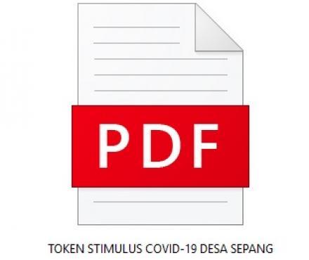 Pengumuman! Token Stimulus Covid-19 Bulan Mei 2020 bagi Pelanggan di Desa Sepang