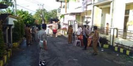 Tim Gabungan Kecamatan Busungbiu Laksanakan Operasi Penertiban Wajib Pakai Masker di Desa Sepang