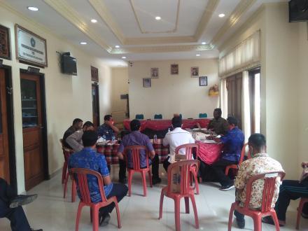 Pemdes, BPD, dan LPM Desa Sepang Sepakat Eksekusi Pembangunan yang Bersumber dari Dana BHP/BHR
