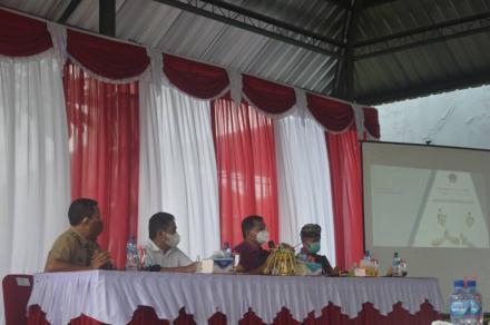 Perbekel Sepang Hadiri Sosialisasi PPKM Skala Mikro Berbasis Desa/Kelurahan